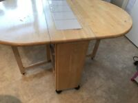 Foldable Dining Table (Drop leaf)