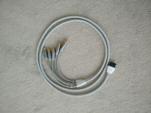 Official Nintendo Wii 6 Foot Component Cable