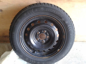 2 Winter and  2 All-Season Tires plus  Rims & Cover Plates