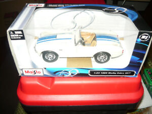 Brand New 1:24 die cast 1965 Shelby Cobra 427 in Smithville ON