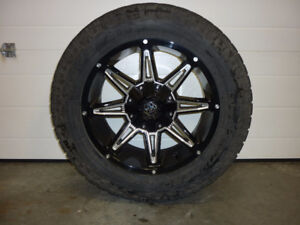Set of four TOYO Open Country Extreme LT295/55R20 mounted