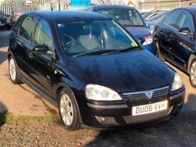 2006/06 Vauxhall/Opel Corsa 1.3CDTi 16v ( a/c ) SXi LONG MOT EXCELLENT RUNNR