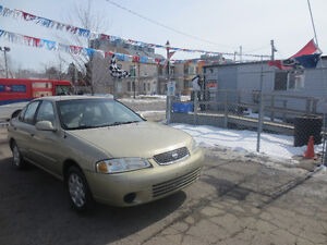 2002 Nissan Sentra XE * GAS SAVER ~ ONLY 94,500 KM !!