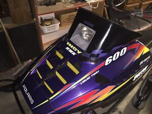 1998 Polaris liquid cooled INDY RMK Sled (Mountain Climber)