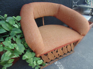 Mexican Patio Love seat And Chair(Trail)