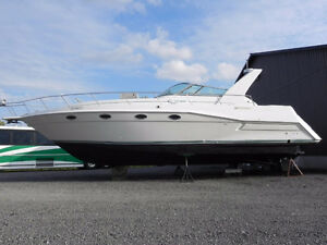 96 CRUISERS INC 40FT low hour loaded fresh water sea ray four wi