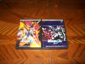Mobile suit Gundam Seed complete colection anime legends dvd set