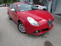 2015 Alfa Romeo Giulietta 1.4 TB Distinctive (s/s) 5dr Petrol red Manual