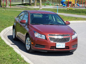 2012 Chevrolet Cruze LT Turbo VERY LOW KMs