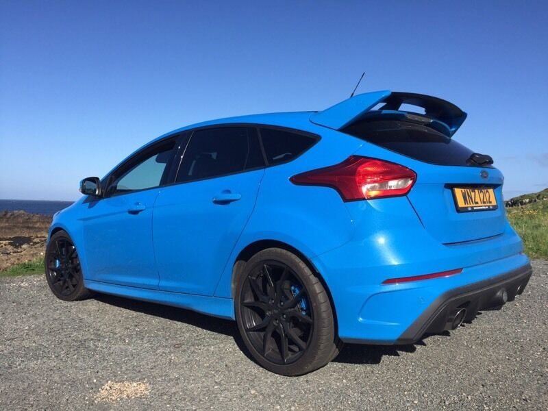 ford focus rs 2 3 nitrous blue luxury pack 2016 in crossgar county down gumtree. Black Bedroom Furniture Sets. Home Design Ideas