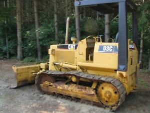 Caterpillar D3 Bulldozer with like new undercarriage