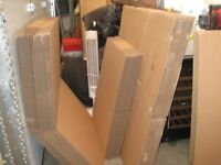 Assortment of Corrugated Cardboard Boxes