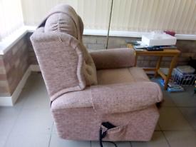Riser recliner electric armchair