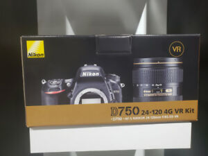 BOXING DAY - Nikon D750 DSLR with 24-120mm VR Lens