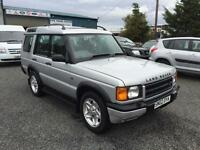 Land Rover Discovery 2.5Td5 ( 2002 02 Td5 GS 7 seater motd July 17