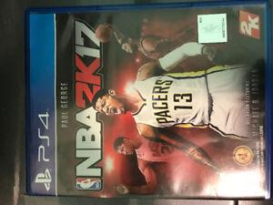 PS 4 games-NBA 2K17 and FIFA 17