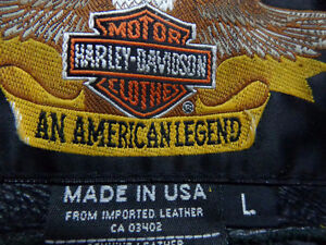 Harley jacket in large-  recycledgear.ca