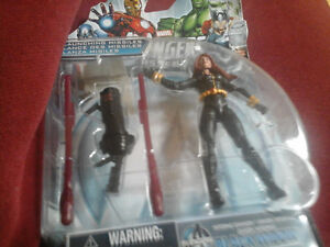 2 great action figures..agent of shields and black widow