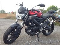 Yamaha MT 125 ABS Red 2015