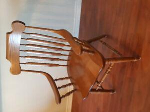 Mennonite solid Oak dining set