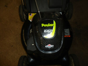 POULAN with BRIGGS & STRATTON ENGINE