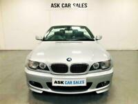 BMW 320Ci M SPORT CONVERTIBLE, OCT 2021 MOT, HEATED LEATHER SEATS WITH MEMORY
