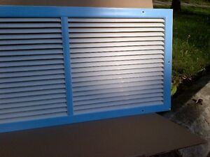 Cold Air Return Grilles - large size 32 x 3 1/4 x 18""