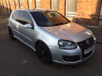 56 PLATE VW GOLF GTI 2.0 AUTO - LOW MILEAGE - HPI CLEAR