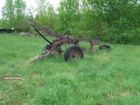 Double row cultivator (all metal)