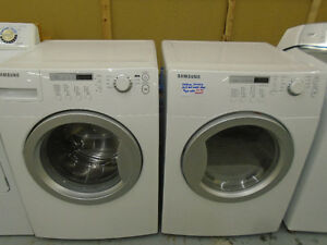 Matching Samsung front load washer/dryer