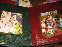 2 BEAUTIFUL BOOKS-ALICE IN WONDERLAND AND HANS CHRISTIAN ANDERSO