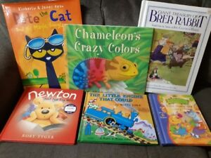 Books - Hardcover kids books (6)