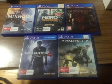 5 ps4 games for sale