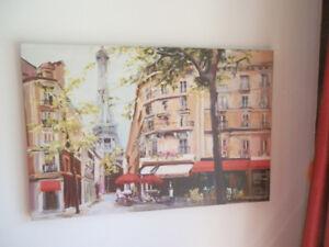 Toile intitutée ''Paris 7e'' - canvas/reproduction sur canvas