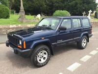 2000 W JEEP CHEROKEE 2.5 TD 4x4 TURBO DIESEL ESTATE 5 SPEED MANUAL // RUST FREE