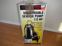 Red Lion 1/2HP Submersible Pump