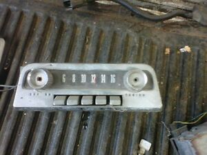 Ford AM radio