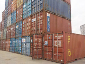 20' Standard Shipping Container Used