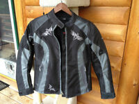 Ladies Bullfaster Motorcycle Jacket, New condition