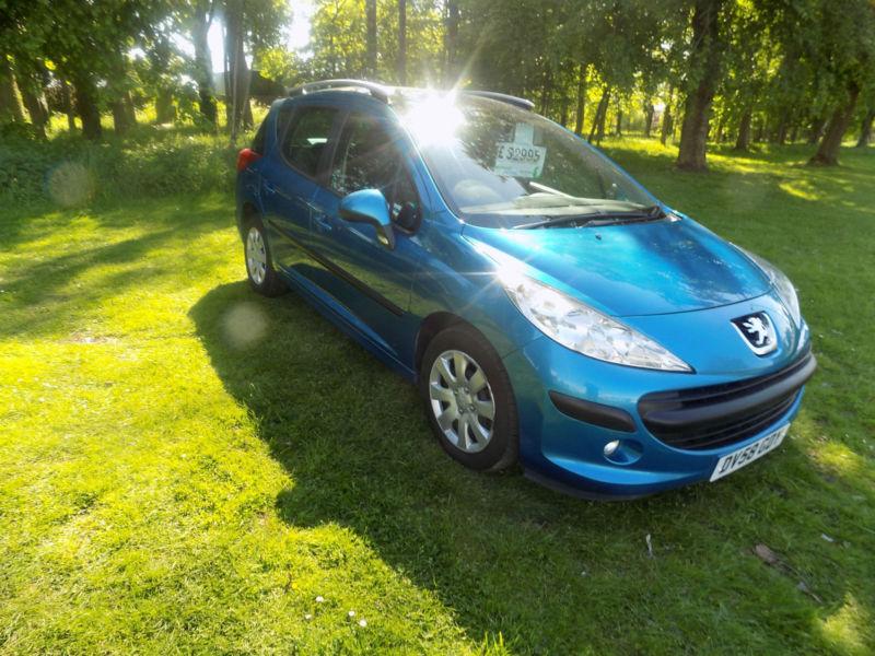 2008 58 reg Peugeot 207 SW 1.4 VTi 95 S netherton cars