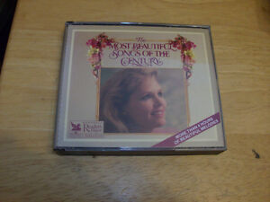 CD SET THE MOST BEAUTIFUL SONGS OF THE CENTRY 4 CD'S