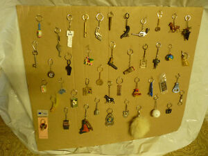 Lot of Misc VINTAGE key chains