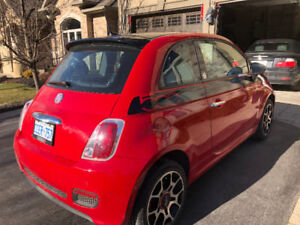 2012 Fiat 500 VERY LOW KMs + SUNROOF
