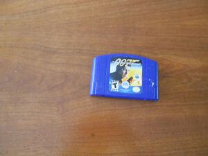THE WORLD IS NOT ENOUGH  007  for N64