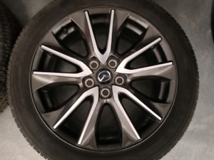 Mazda cx3 gt 18in mags 215/50/18 tires 8/32