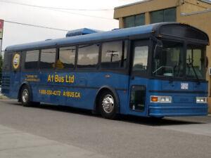 2003 coach charter bus