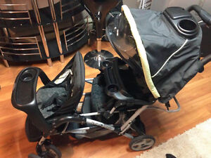 Graco Double duoglider stroller