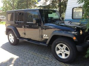 2008 Jeep Wrangler Unlimited X ; A/C