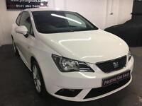 Seat Ibiza 1.4 16v ( 85ps ) SportCoupe 2015MY Toca,1 OWNER,FULL HISTORY,SAT NAV