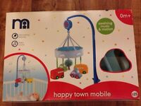 Happy Town Mobile & Matching Cot Bed Bumper